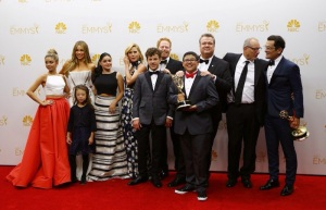 Les gagnants de la meilleure série comique, le casting de Modern Family