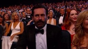 Le visage de Jon Hamm apparaît !
