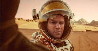 Matt Damon dans Seul sur Mars