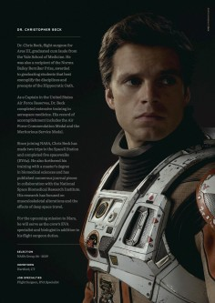 Sebastian Stan, interprétant Dr. Chris Beck
