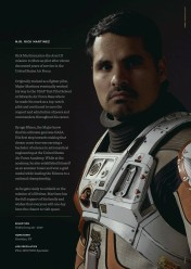 Michael Peña, interprétant Rick Martinez