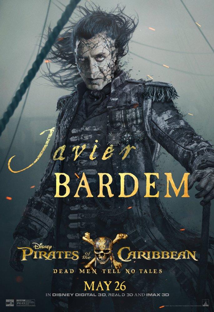 Javier Bardem, Pirates des Caraibes