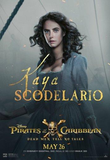 La jeune Carina Smyth, jouée par Kaya Scodelario.