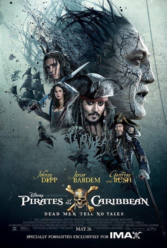 Affiche de Pirates des Caraïbes