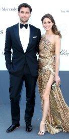 Au gala annuel de l'Amfar au Festival de Cannes en 2013.